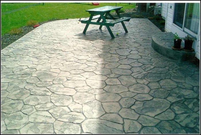 Stamped Concrete Patio Designs