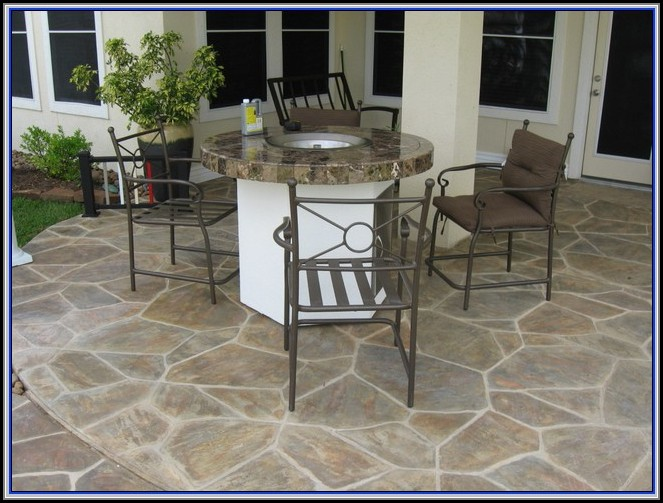 Stamped Concrete Patio Maintenance
