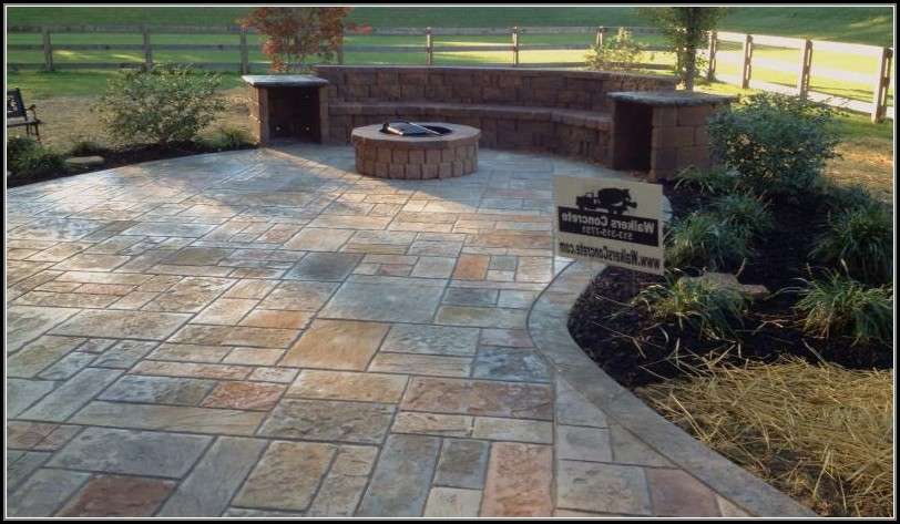 Stamped Concrete Patios Images