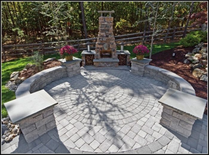 Stone Paver Patio Ideas