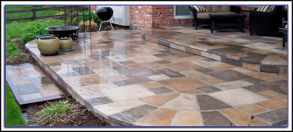 Tile Over Old Concrete Patio