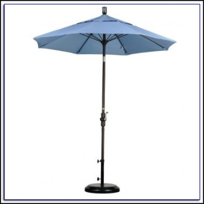 Tilt Patio Umbrella With Base