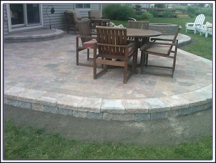 Unilock Paver Patio Pictures