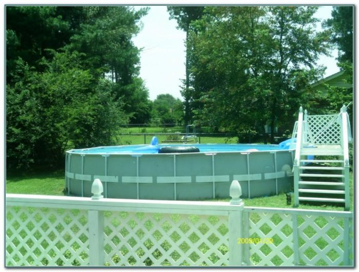 Used Above Ground Swimming Pool Slides