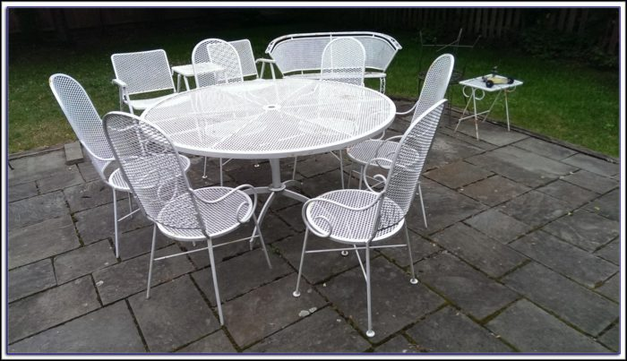 Vintage Wrought Iron Patio Furniture Manufacturers