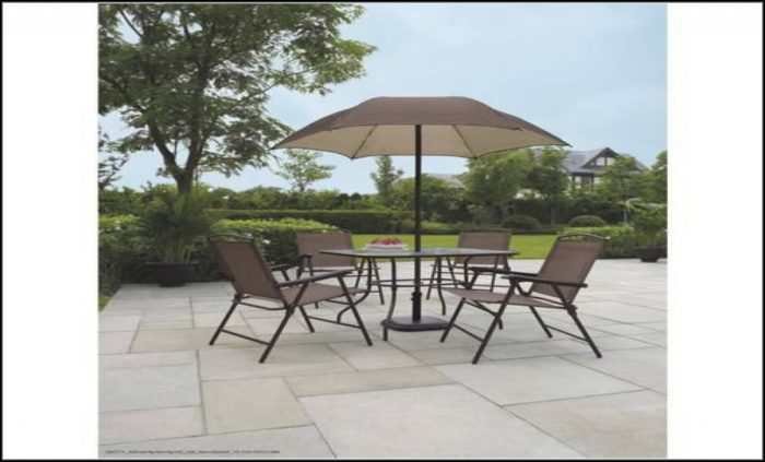 Walmart Patio Dining Sets With Umbrella