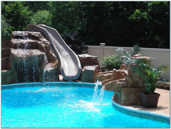 Waterfall Slides For Inground Pools