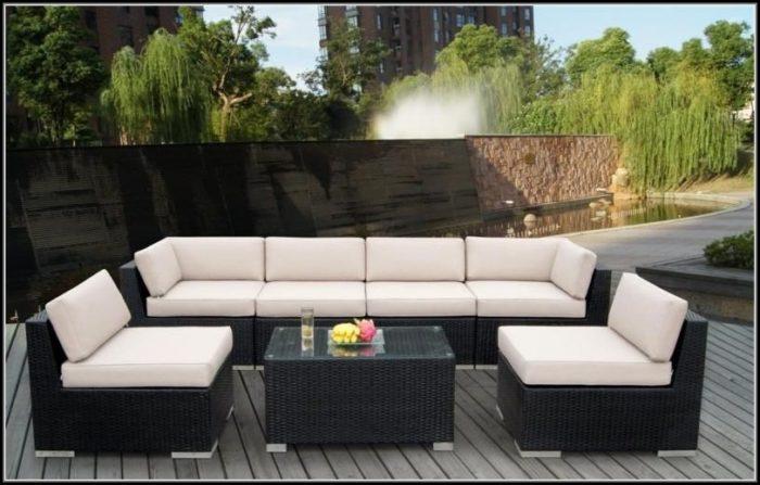 Wicker Outdoor Sofa Furniture Lounge