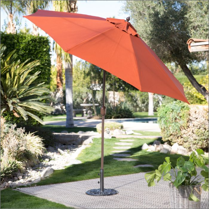 Wind Resistant Tilt Patio Umbrella