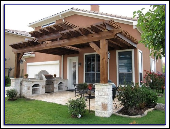 Wood Lattice Patio Cover Kits