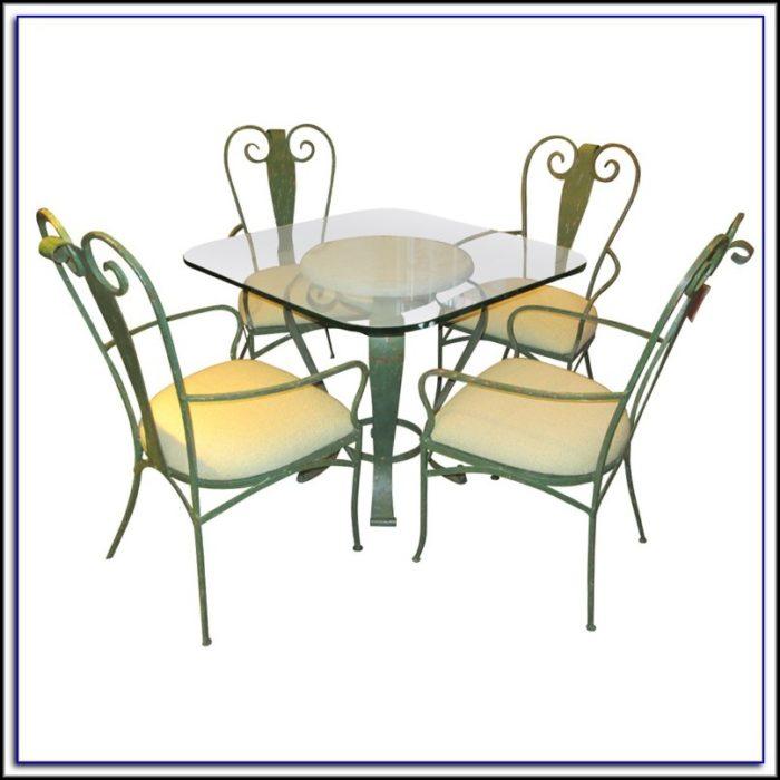 Vintage Woodard Wrought Iron Patio Furniture Patios