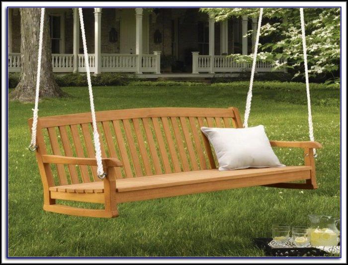 Wooden Outdoor Patio Swings