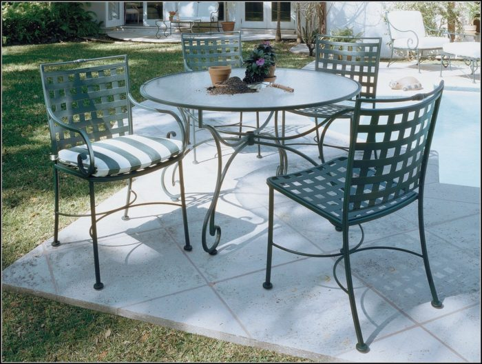 Wrought Iron Patio Chairs