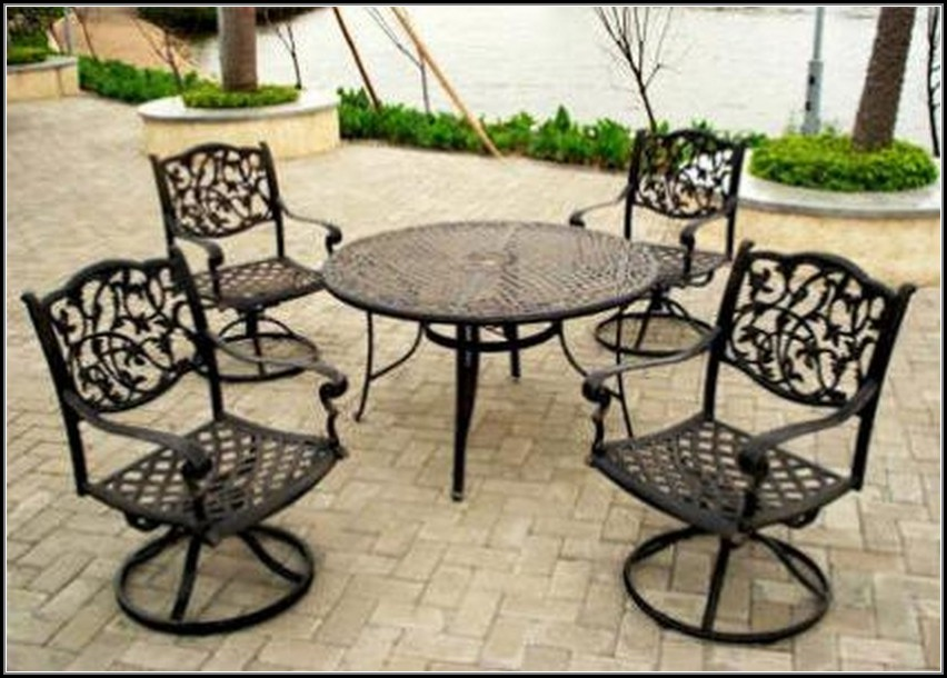 Wrought Iron Patio Furniture Manufacturers