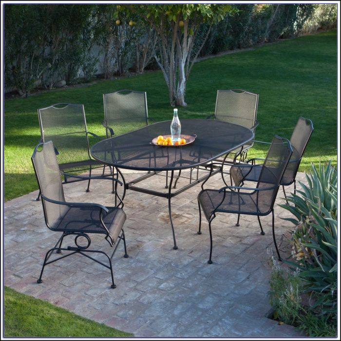 Wrought Iron Patio Furniture Sets Ebay