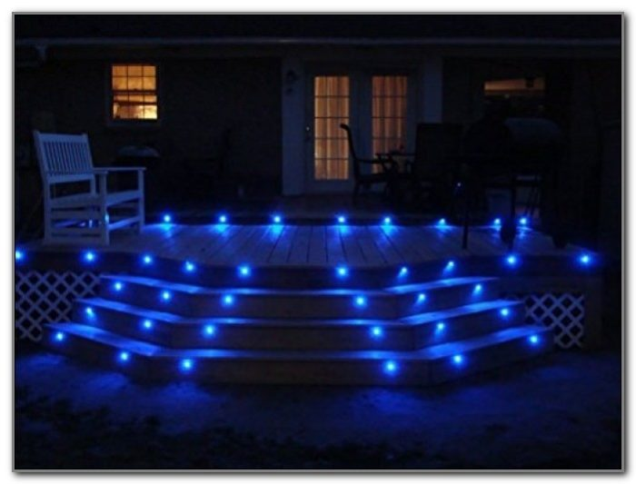 10 Blue Led Deck Lights