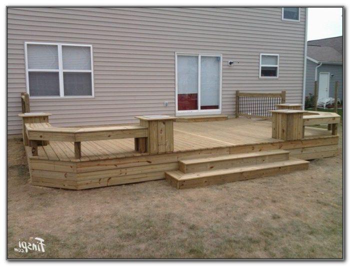12 X 12 Deck Plans
