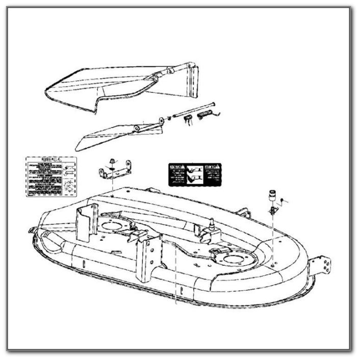 42 John Deere Mower Deck Shell