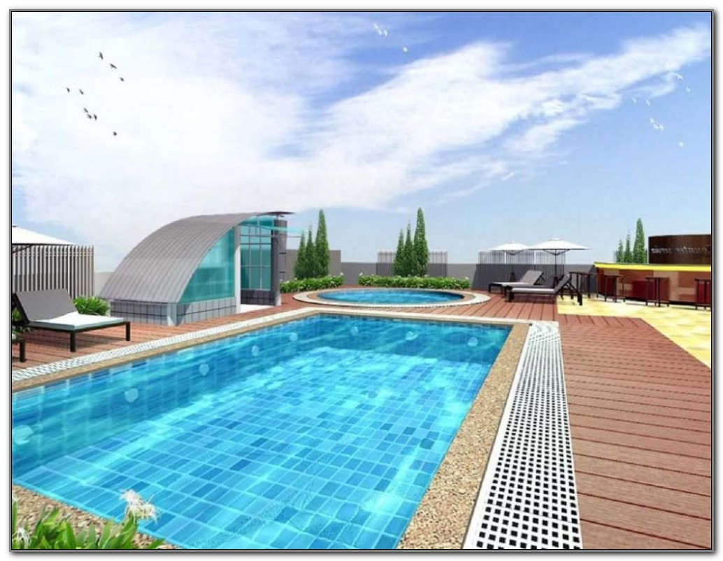 Above Ground Oval Swimming Pool Deck Designs
