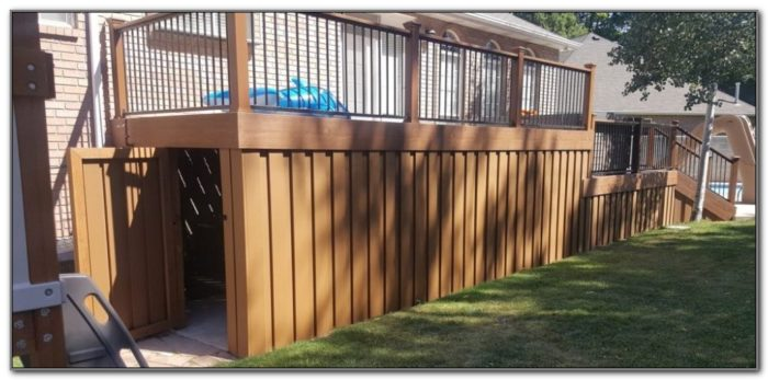 Alternative To Wood Deck