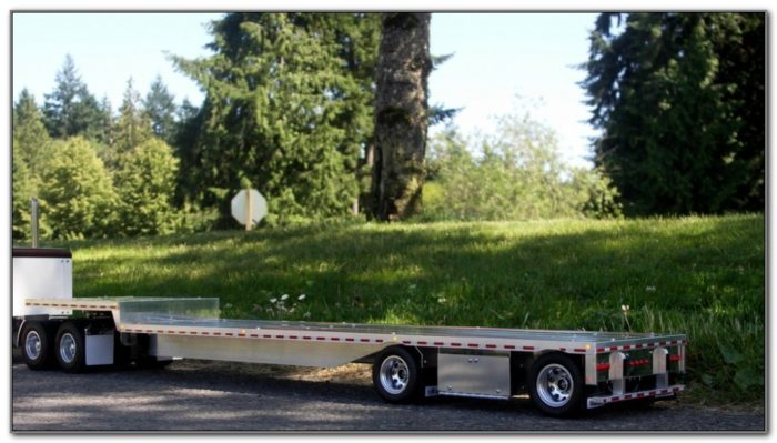 Aluminum Drop Deck Trailers