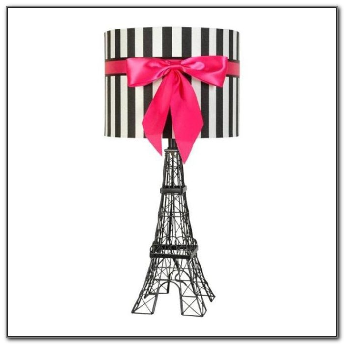 Black Eiffel Tower Table Lamp