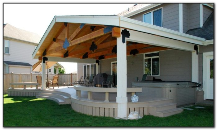 Build A Covered Deck Plans