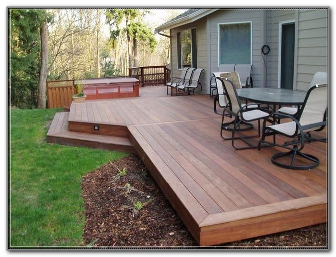 Build A Floating Patio Deck