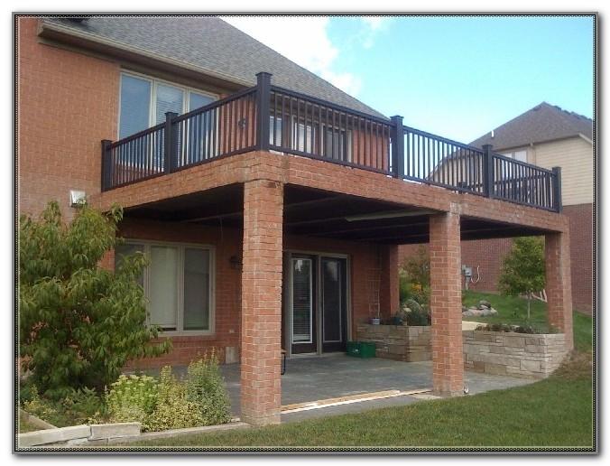 Build A Raised Deck Plans