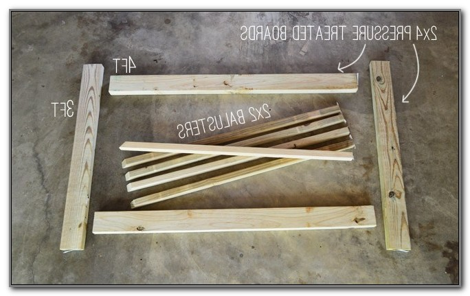 Build A Wooden Deck Gate