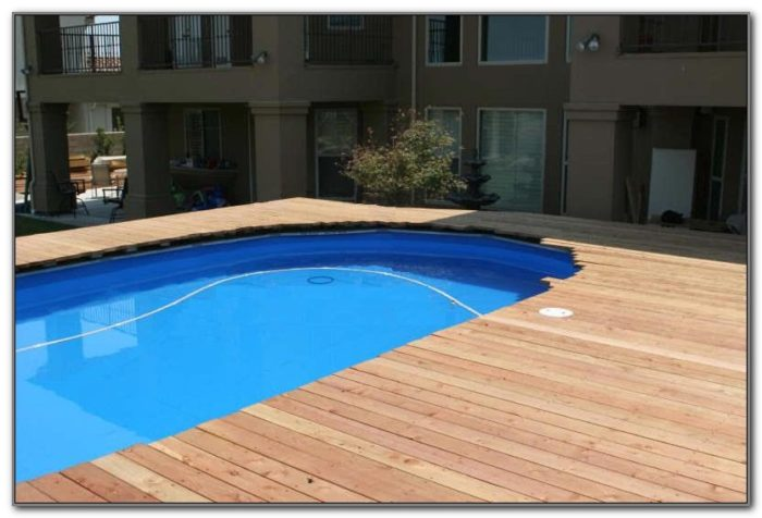 Build Deck Over Pool