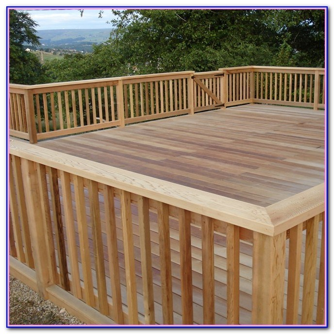 Building A Deck Railing Ideas