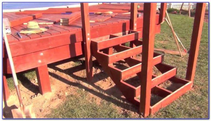 Building Deck Railing Youtube