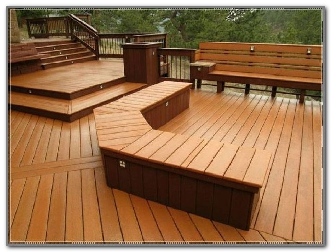 Built In Deck Bench Seat Plans