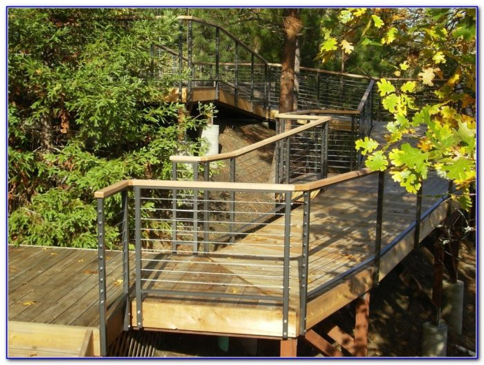 Cable Deck Railing Pictures