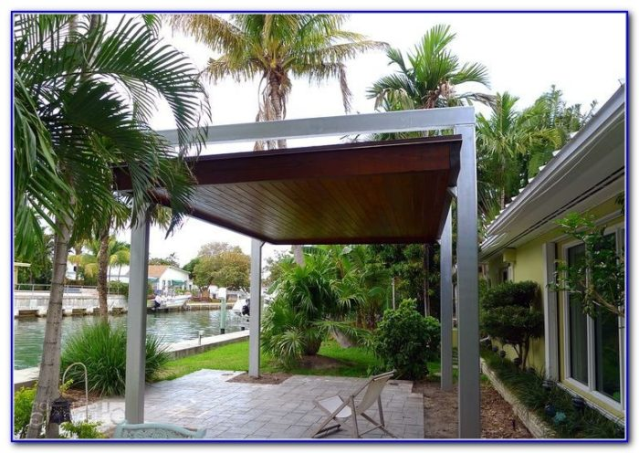 Canvas Awnings For Decks