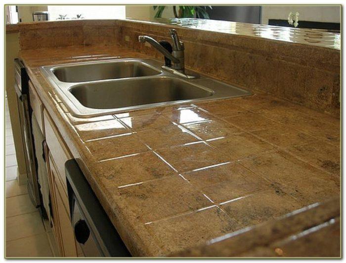 Ceramic Tile Kitchen Countertops Pictures