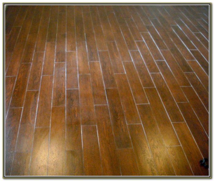 Ceramic Tile Wood Plank Pattern