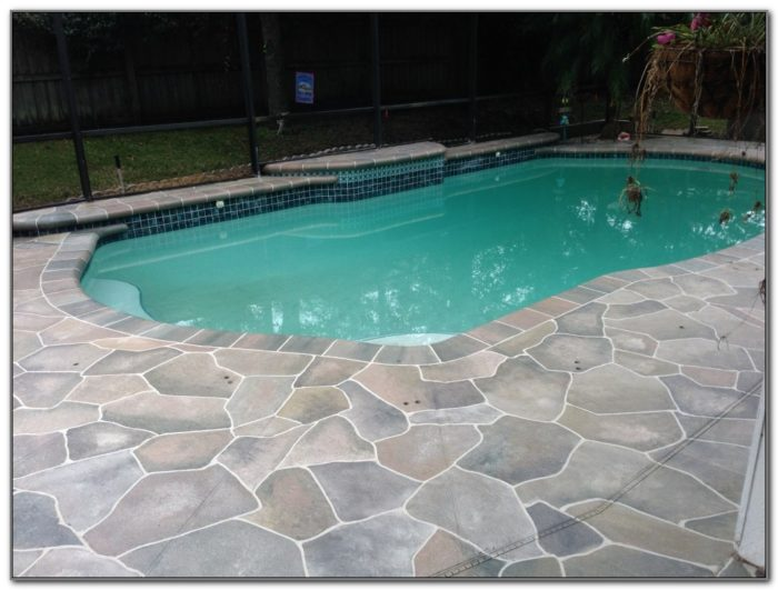Concrete Pool Deck Design Ideas