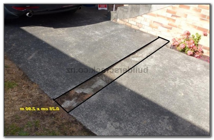Concrete Slab Under Deck