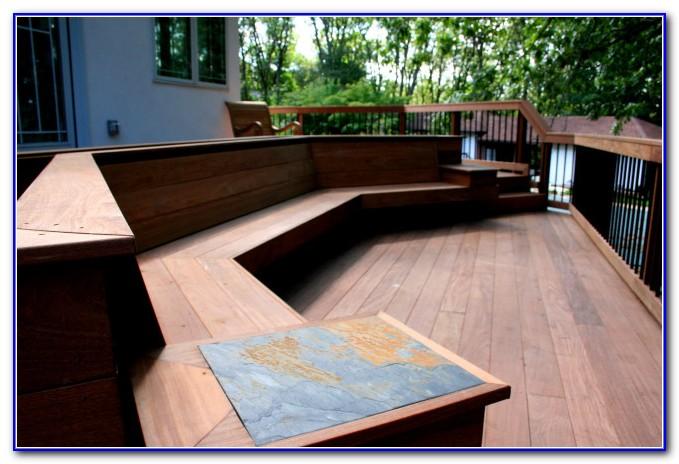 Corner Deck Bench Plans