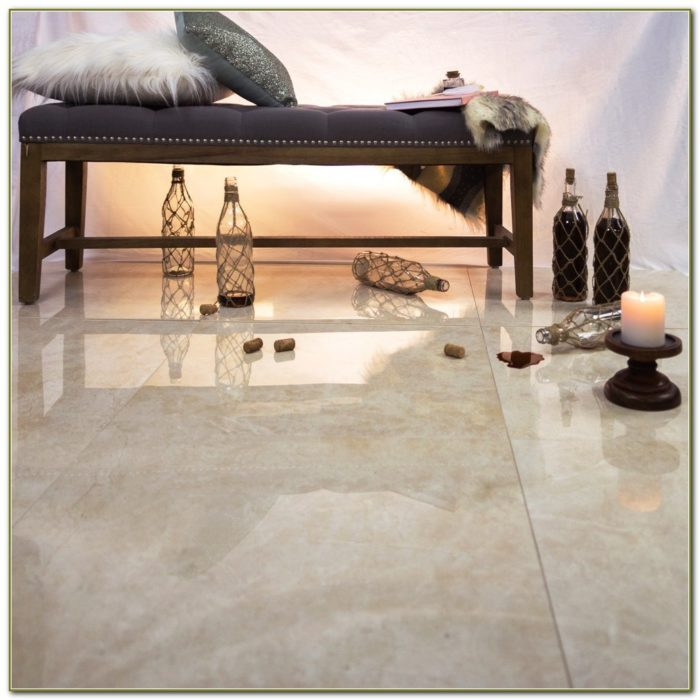 Crema Marfil Polished Porcelain Tile