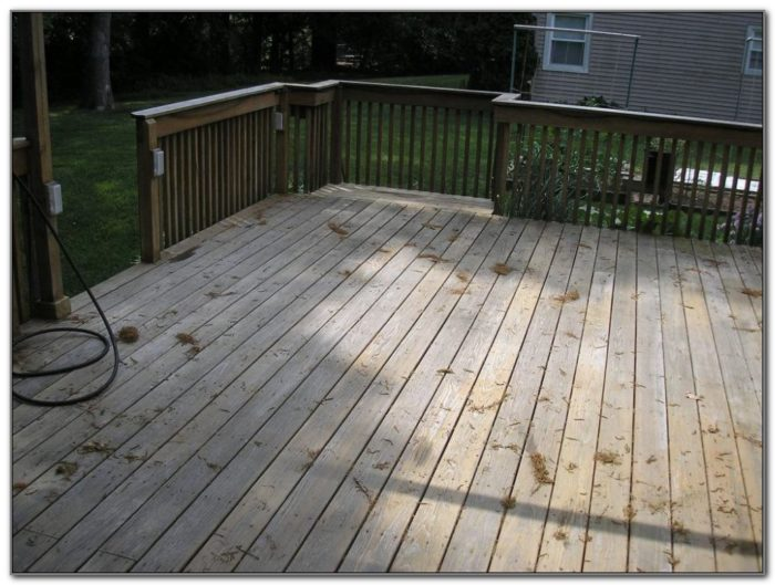 Deck And Fence Stain Colors