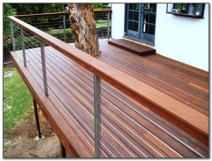 Deck Bench With Back Designs