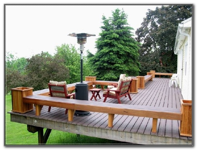 Deck Bench With Back Plans