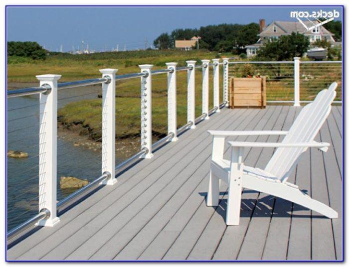 Deck Cable Railing Designs