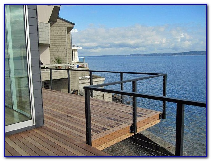 Deck Cable Railing Ideas
