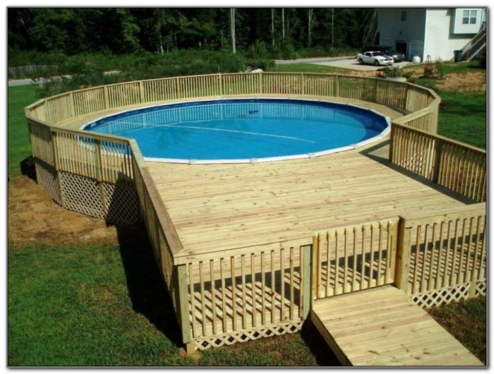 Deck Designs For Above Ground Round Pools
