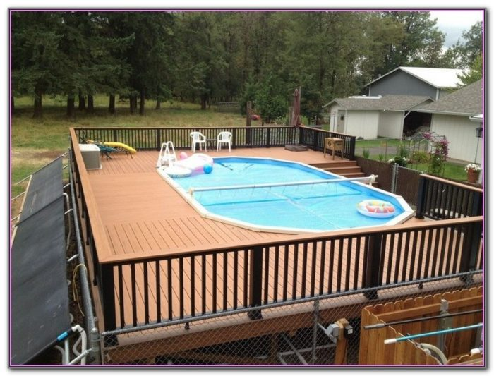 Deck For Above Ground Pool Ideas