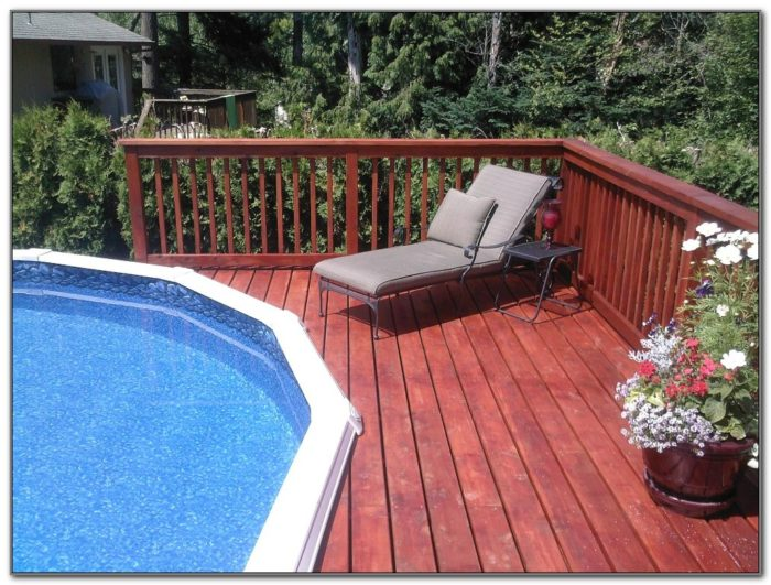 Deck For Above Ground Pool Pictures